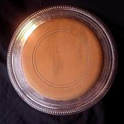 Stunning Edwardian Period Silver Plate Bread Board