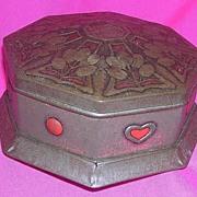 Art Nouveau Cadbury Bournville Cocoa Tin Circa 1900