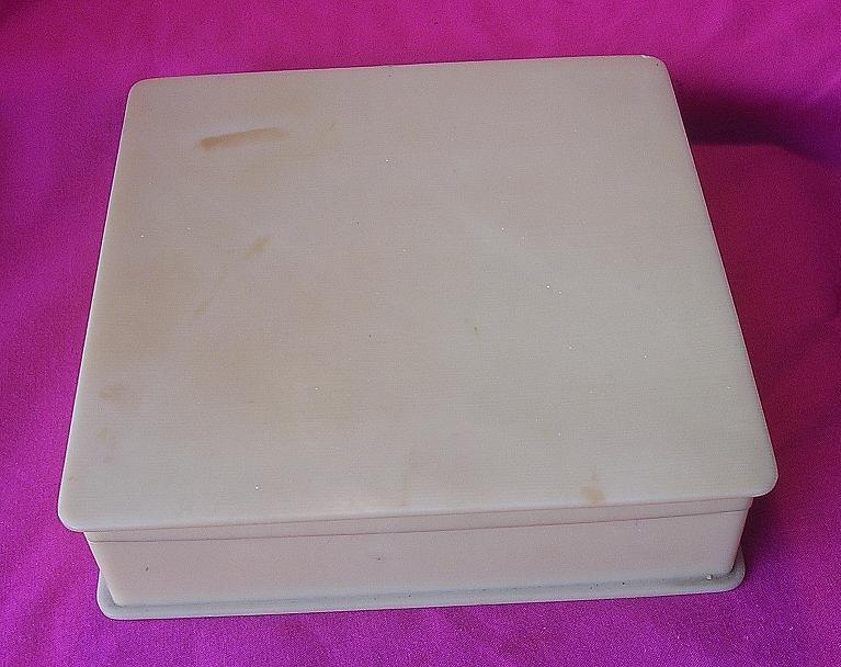 Old 1930's-40's Ivorine Hanky Box