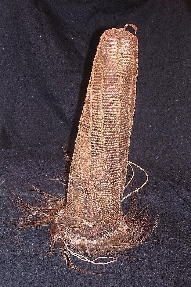 Large Decorative Private Parts Sheath From The Papua New Guinea Highlands