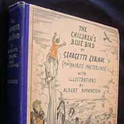 The Children's Bluebird By Georgette Leblanc Second Edition 1922