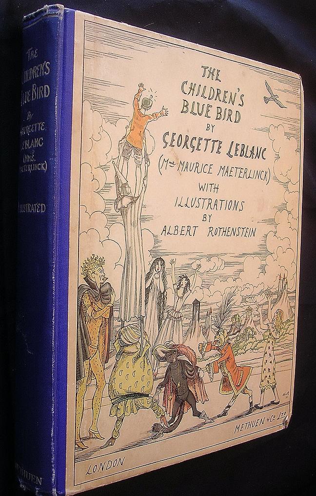 The Children's Bluebird By Georgette Leblanc Second Edition 1922