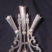 Victorian Silver Plated Table Center Decoration or Epergne