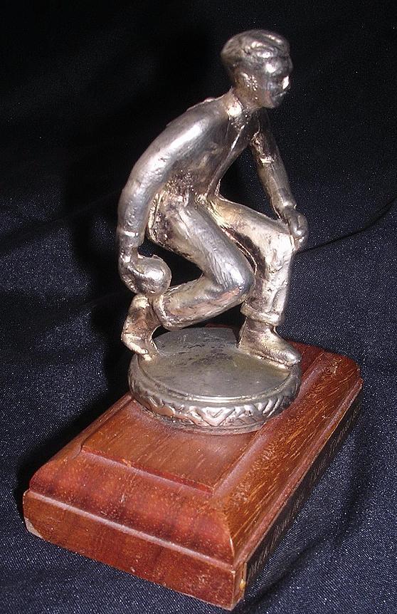 1975 Bowling Man Presentation Trophy