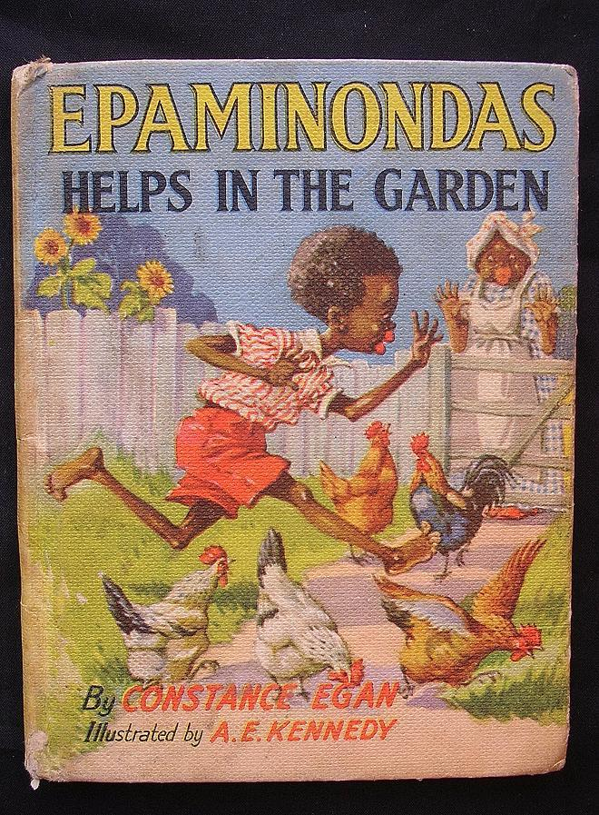First Edition 1960 Epaminondas Helps In The Garden From