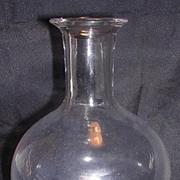 Georgian Hand Blown Glass Decanter