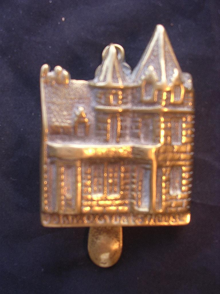 Small Brass Door Knocker Of JOHN O' GROAT'S House Circa 1910