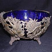 Gorgeous Little Art Nouveau BON BON DISH Circa 1900