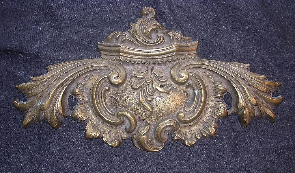 Beautiful 1862 Brass Escutcheon