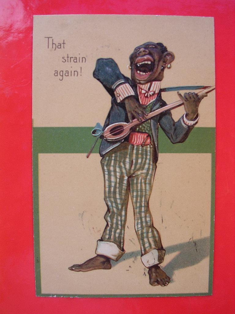 Top Quality Old Black Americana Card That Strain Again