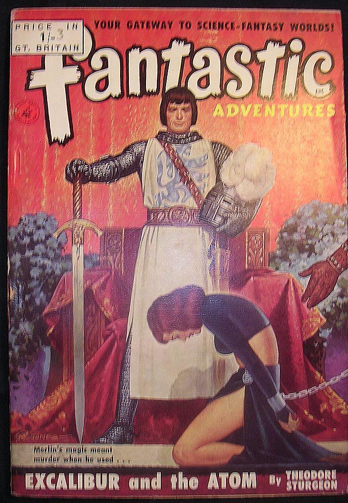 SCI-FI Magazine - Fantastic Adventures No 15 1951