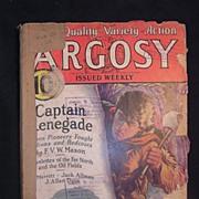 Sci-Fi Magazine - ARGOSY Feb. 20 1932