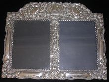 Stunning Baroque Sterling Silver Picture Frame Circa Early 1900's