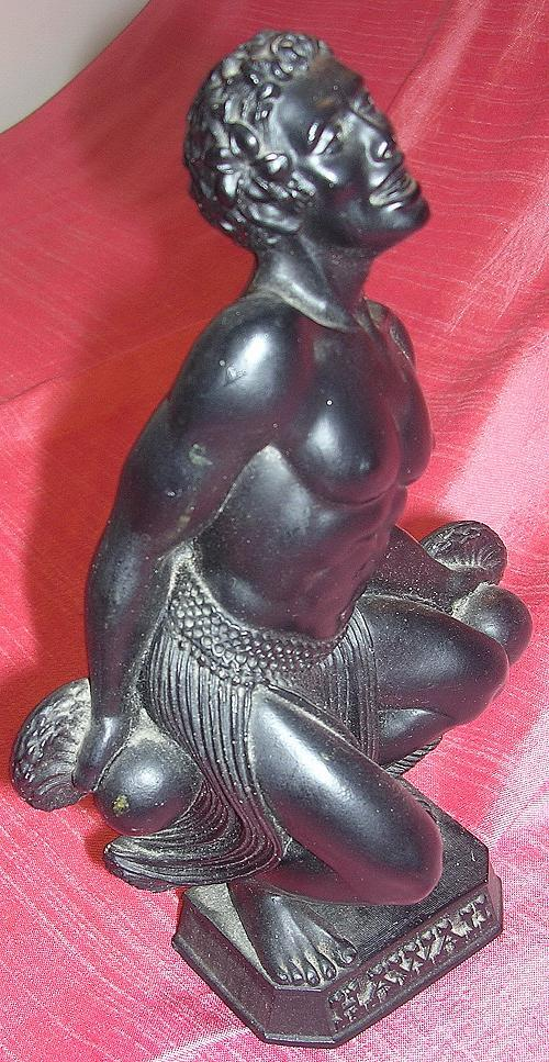 Hawaiian 'HIP Original' Lave Rock Hula Dancer Figurine