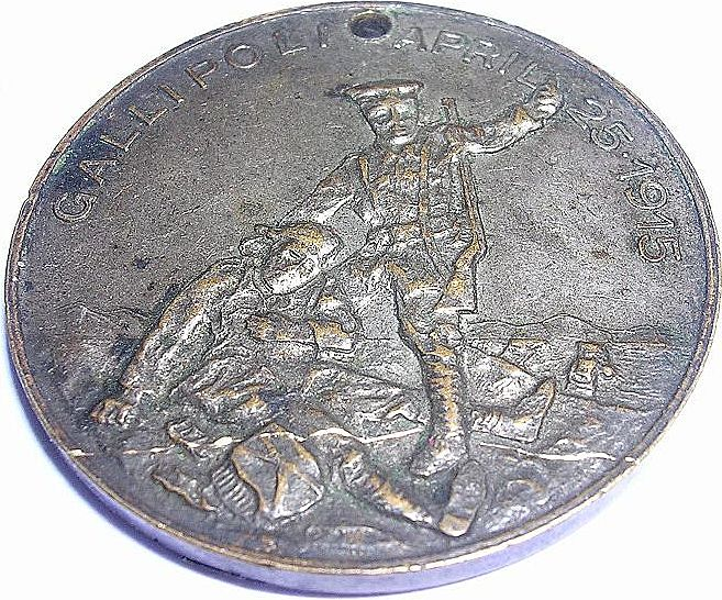 Australian GALLIPOLI Commemorative Medallion