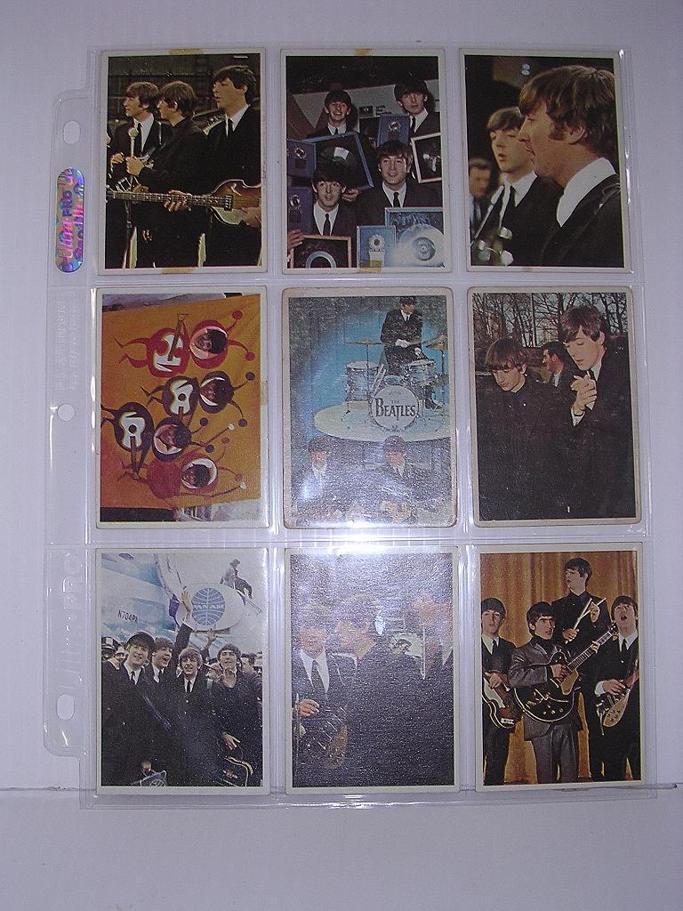 1960's Original BEATLES Trading Cards