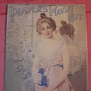 PLAYERS Navy Cut Cigarettes Mounted Poster