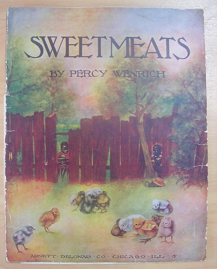 BLACK AMERICANA Sheet Music ' Sweetmeats'