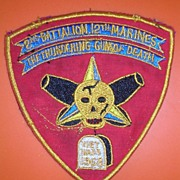 Rare Vietnam War '2nd Battalion 12th Marines' Shoulder Patch