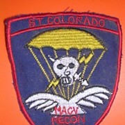 VIETNAM War Slam Team Colorado Shoulder Patch