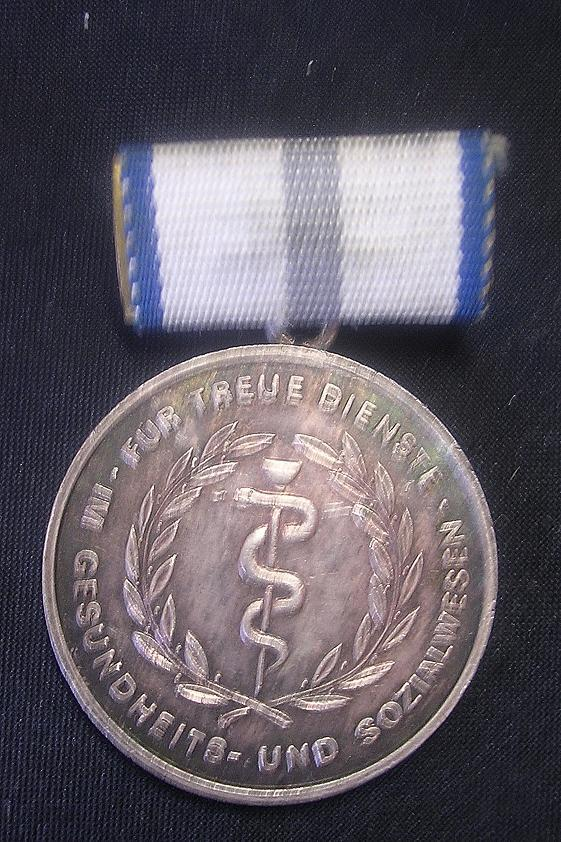 German Democratic Republic Medal - Silver