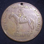 1910 BOYSCOUT Medallion From Excelsior Shoes Portsmouth