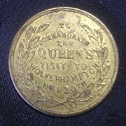 1866 Queen Victoria's Visit to Wolverhampton Commemorative Medallion