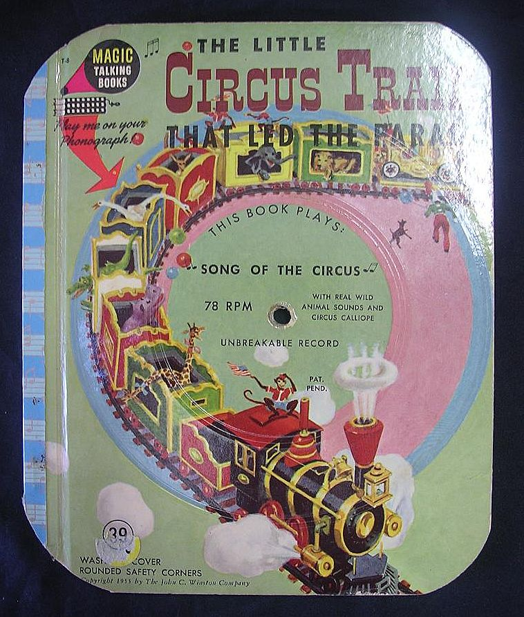 The Magic Talking Book 'The Little Circus Train'