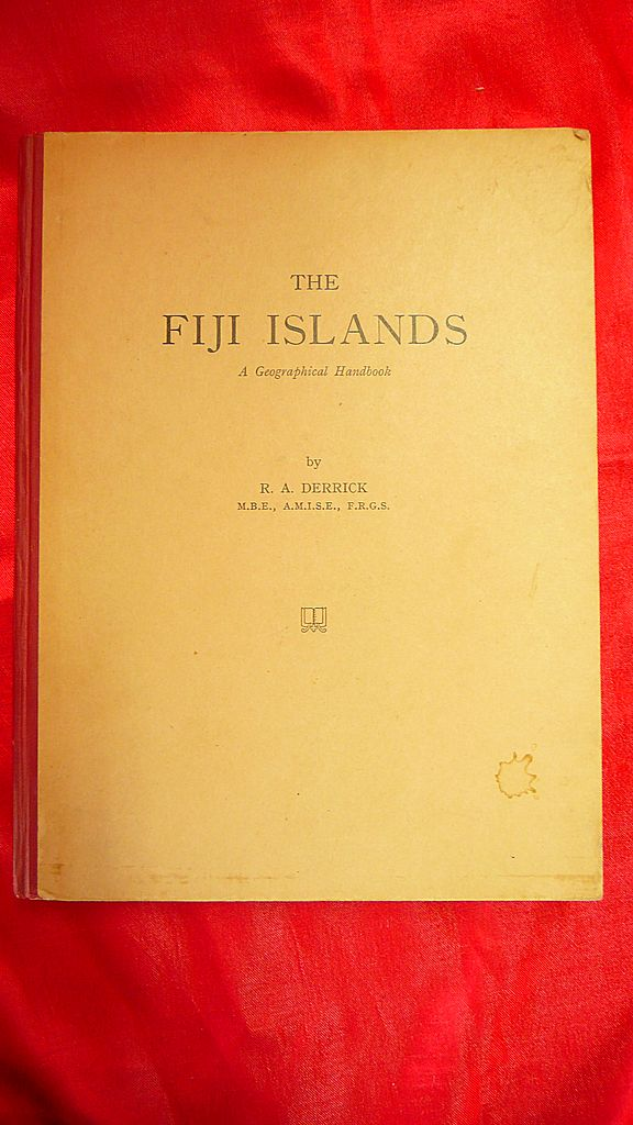 FIJI Islands Geographical Handbook Ist Edition 1951