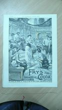 FRY'S COCOA Full Page from The Illustrated London News 1892