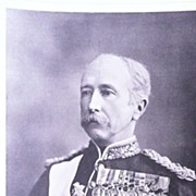 Front Page From The London Illustrated News 1895 'Field Marshal Viscount Wolseley'