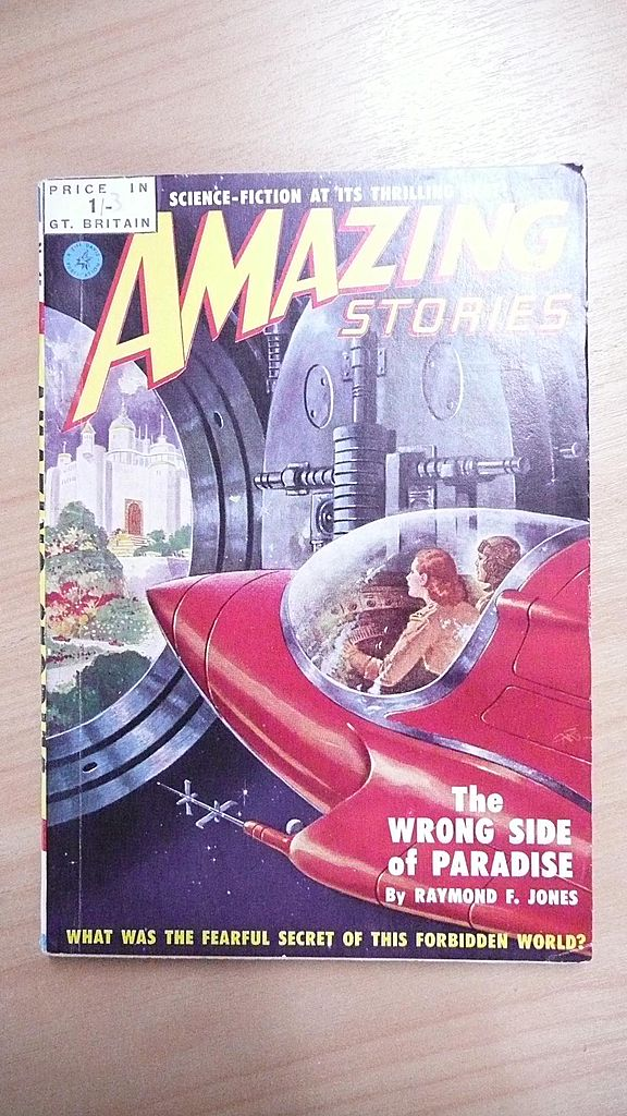 Sci-Fi Magazine - Amazing Stories - No 15 1951