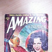 Sci-Fi Magazine - Amazing Stories - Vol.24 No. 24 April 1950