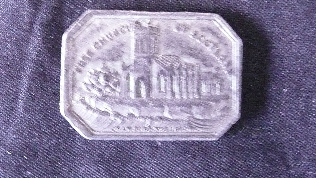 Free Church of Scotland Lockerbie  TOKEN - 1843