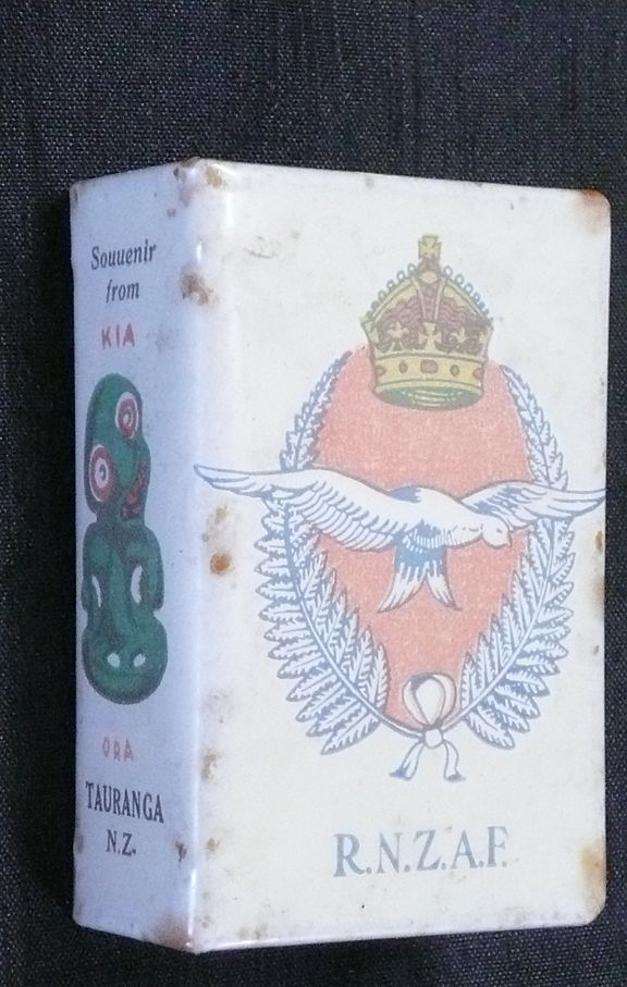 R.N.Z.A.F  Matchbox Holder Circa  WWII