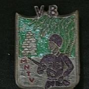 Saigon Militaria - French Indochine War - Foreign Legion  Badge