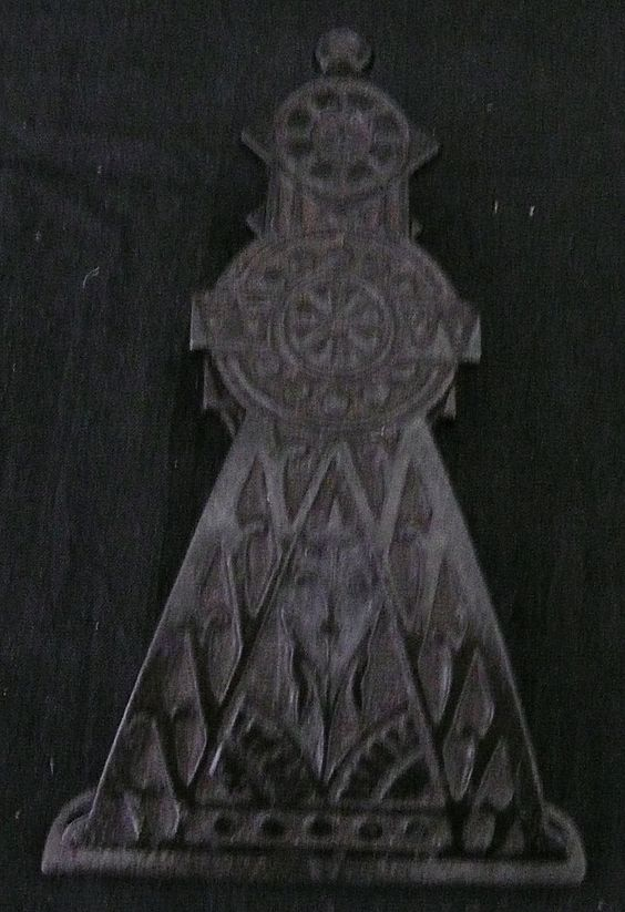 Large Victorian Art Nouveau Steel Paper Clip