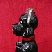 Gorgeous GARNIER Poodle Decanter