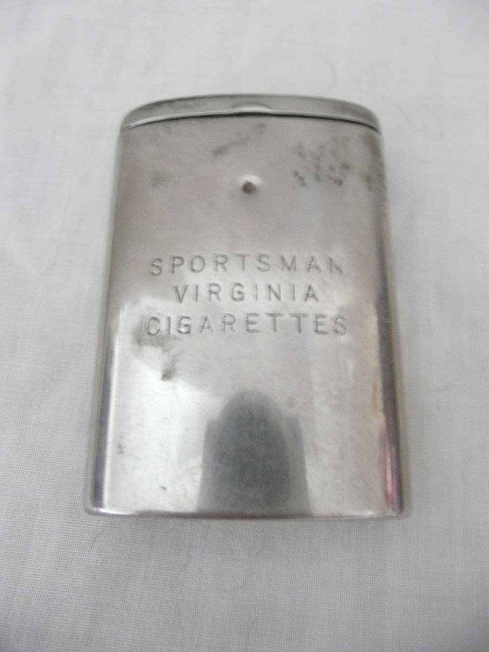 Old Advertising Vesta Case For Sportsman Virginia Cigarettes