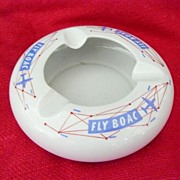 BOAC  First Class Advertising Ashtray Circa 1950