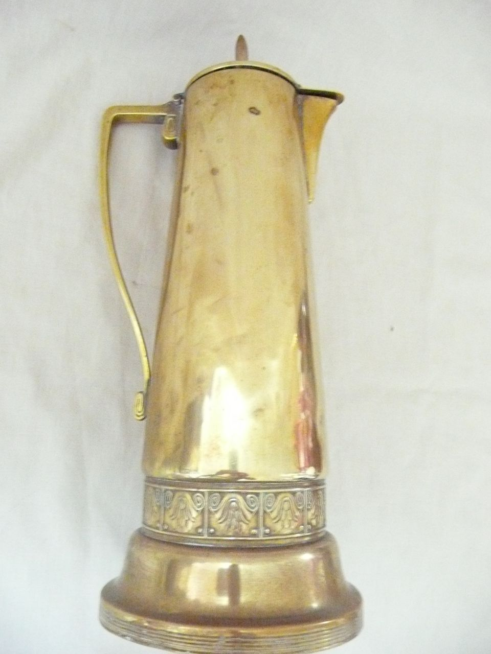 Tall Art Nouveau  Jug - Gebruder Bing - Germany-Circa 1890