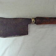 BIG ' Gilpin' English Butchers Meat Cleaver Circa Early 1900's