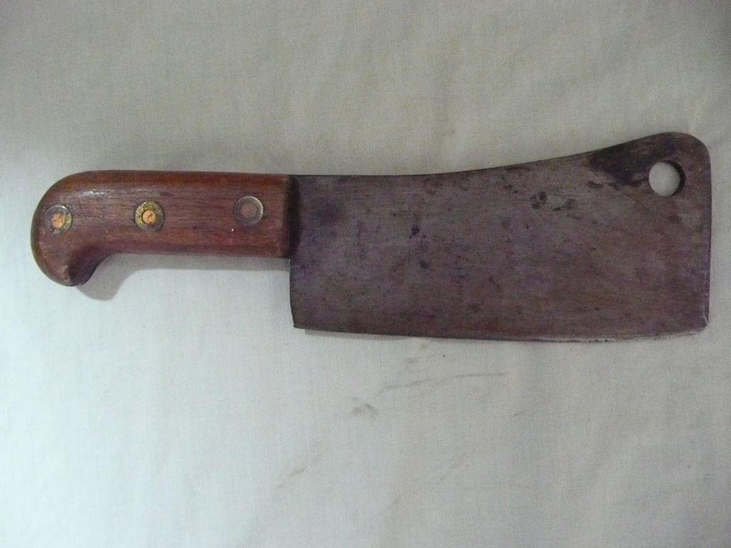 Butchers Meat Cleaver Early 1900 S From Molotov On Ruby Lane