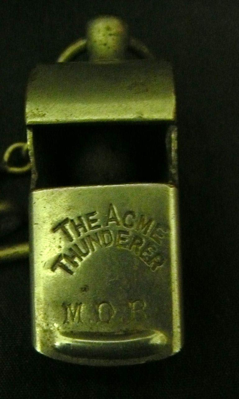 M.D.R  (The Metropolitan District Railway) GUARDS Whistle