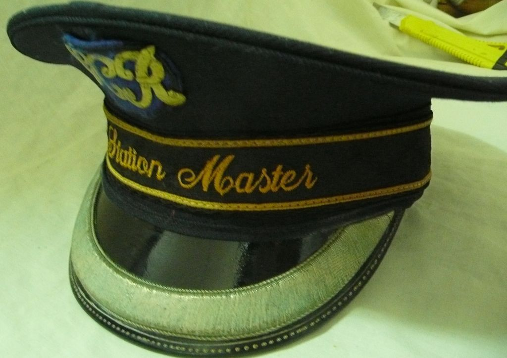 Great Central Railway (UK)  Station Master's Hat Circa 1950