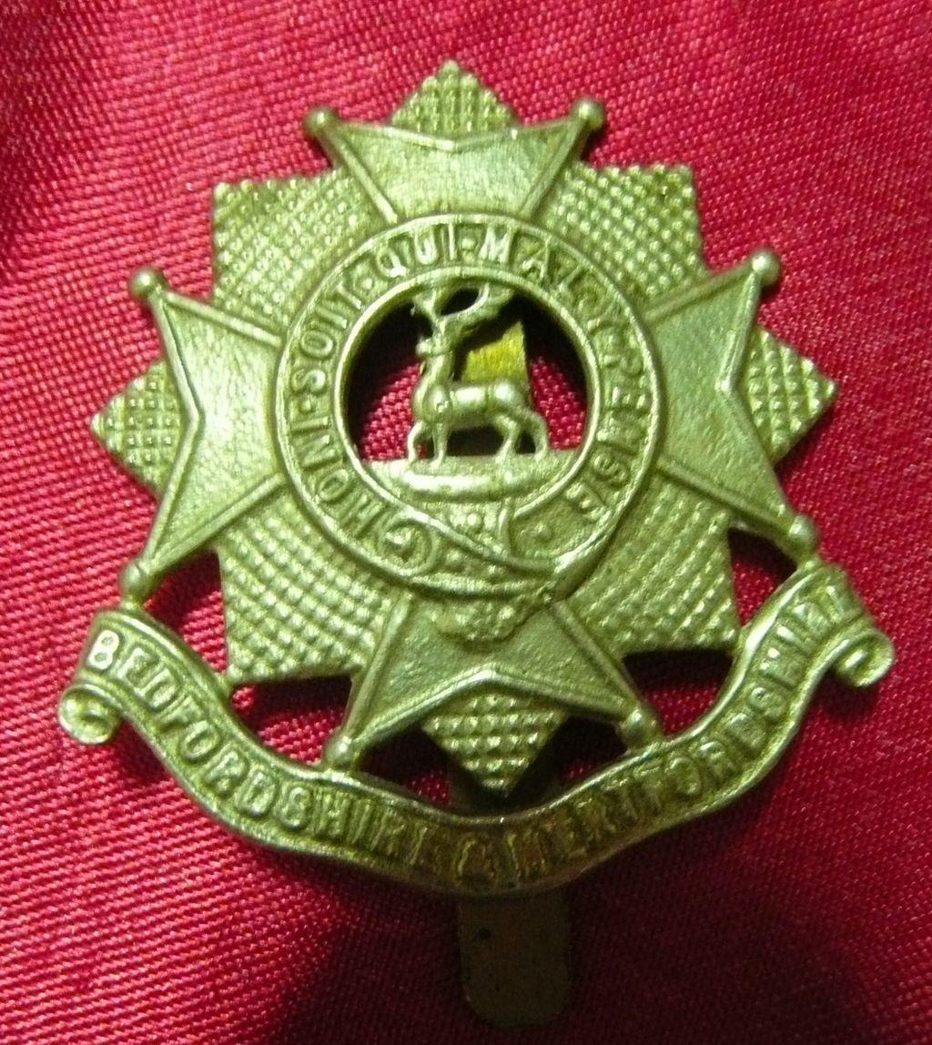 WW1 British Army Badge - Bedfordshire