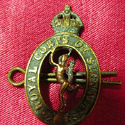 WW1 British Army Badge - Royal Corps of Signals