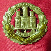 WW1 British Army Badge - Northamptonshire