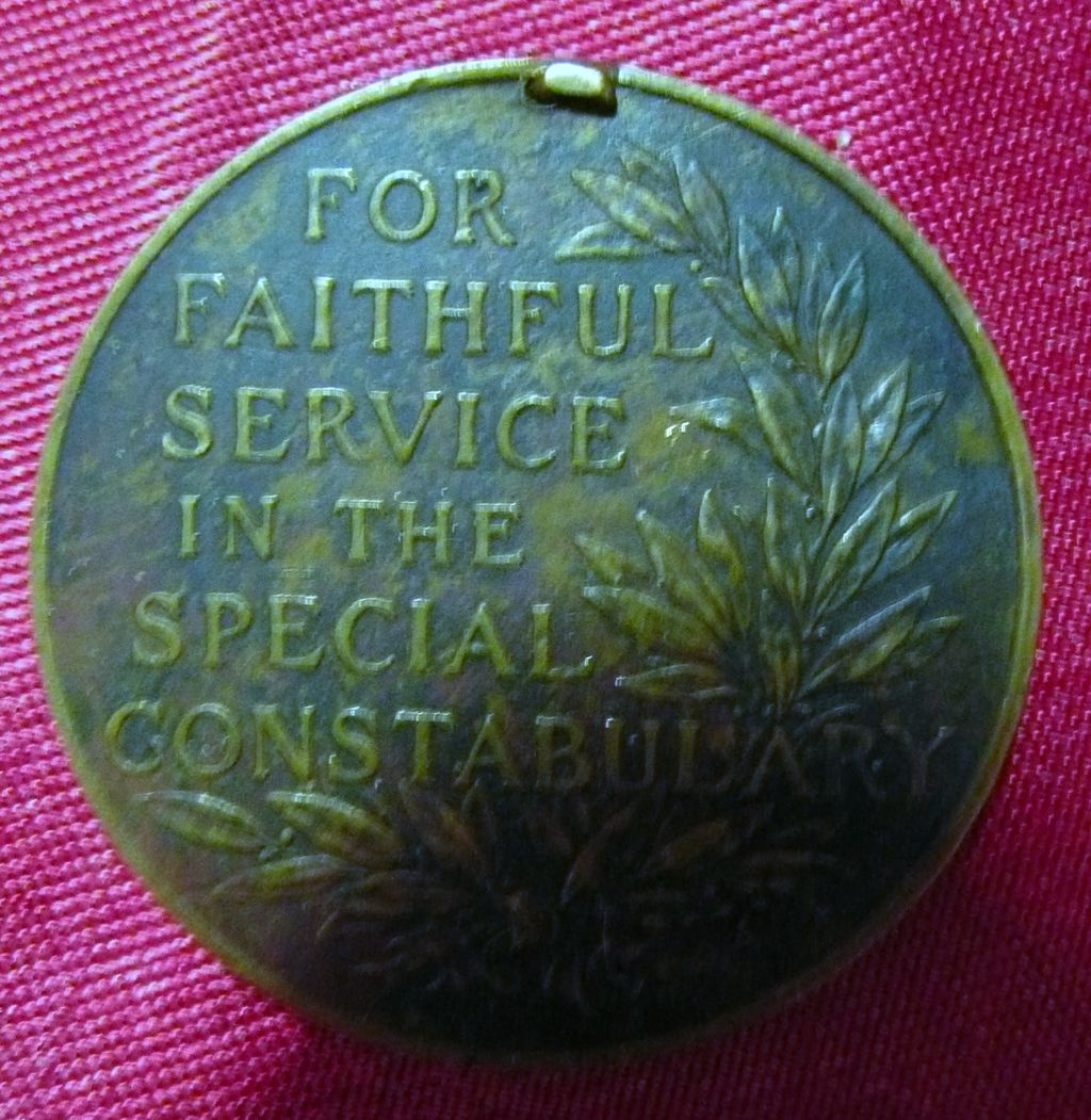 George V Special Constabulary Medal
