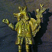 """Trusty Servant"" Old English Door Knocker Circa 1910-1915"